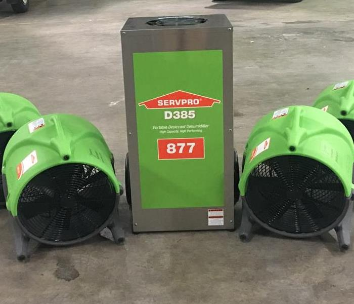 New equipment at SERVPRO of Huntington